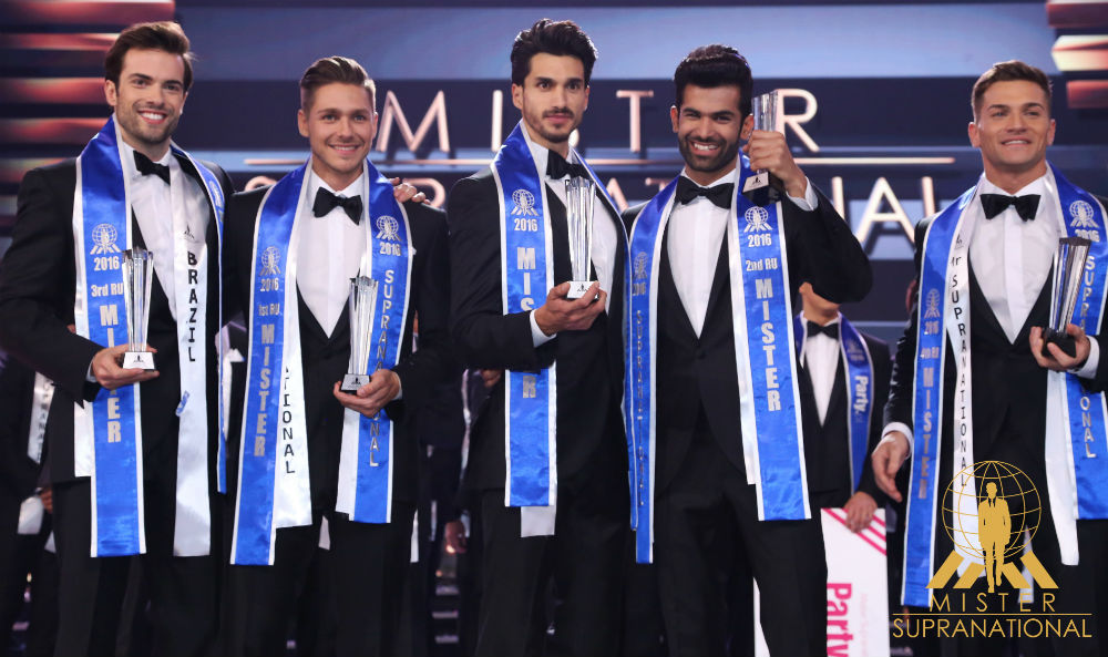 The first edition of Mister Supranational, won by Mexico, took place in 2016