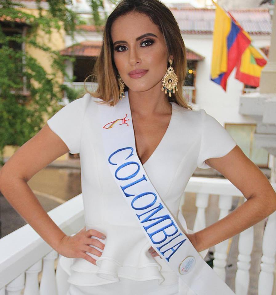 Sheyla Quizena is Miss Grand Colombia 2018.