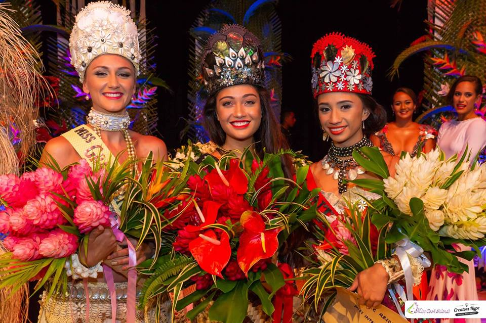 Miss Grand Cook Islands, Miss World Cook Islands and Miss International Cook Islands