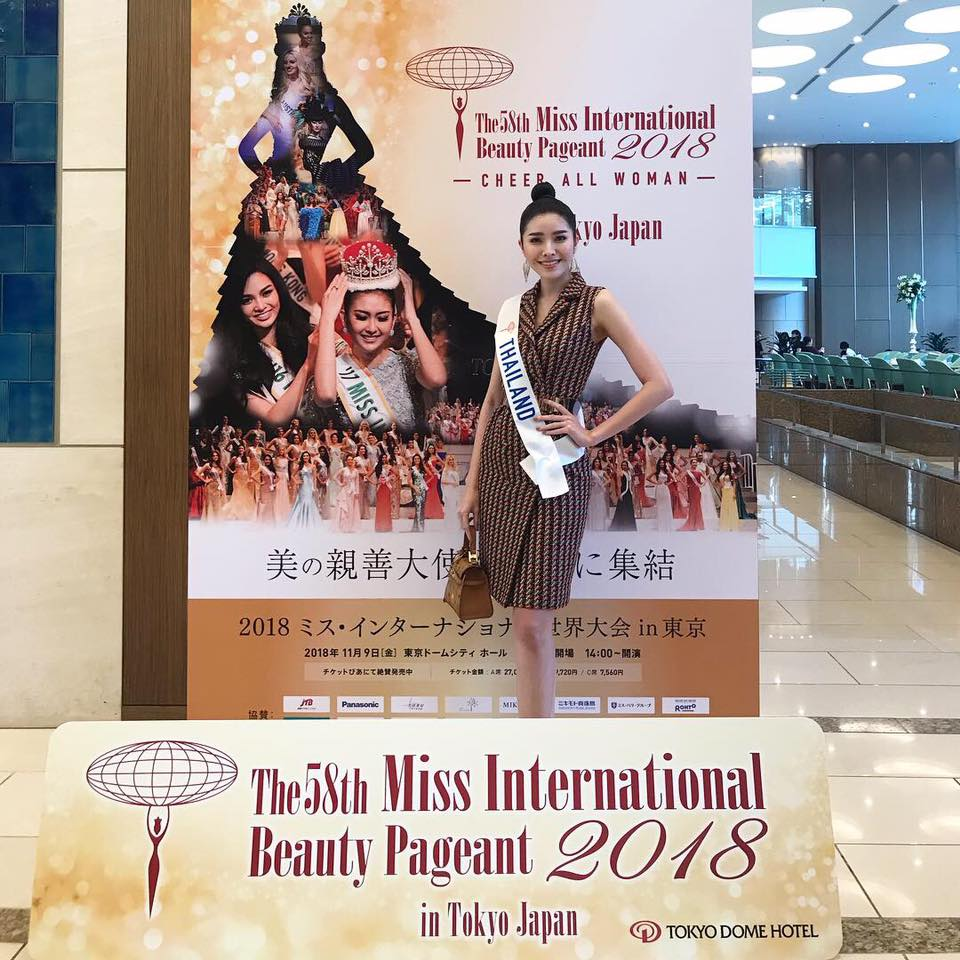 Road to Miss International 2018 - Official Thread - COMPLETE COVERAGE - Venezuela Won!! - Page 2 Thailand