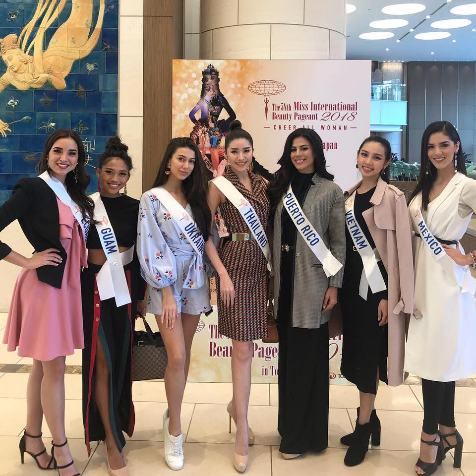 Road to Miss International 2018 - Official Thread - COMPLETE COVERAGE - Venezuela Won!! - Page 2 Thailand2
