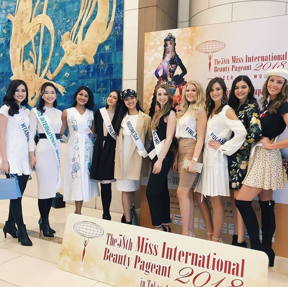 Road to Miss International 2018 - Official Thread - COMPLETE COVERAGE - Venezuela Won!! - Page 2 Thailand4