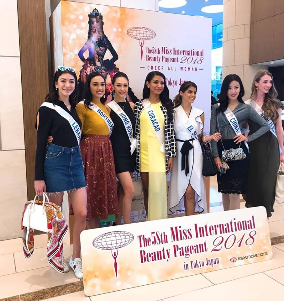 Road to Miss International 2018 - Official Thread - COMPLETE COVERAGE - Venezuela Won!! - Page 2 Thailand11