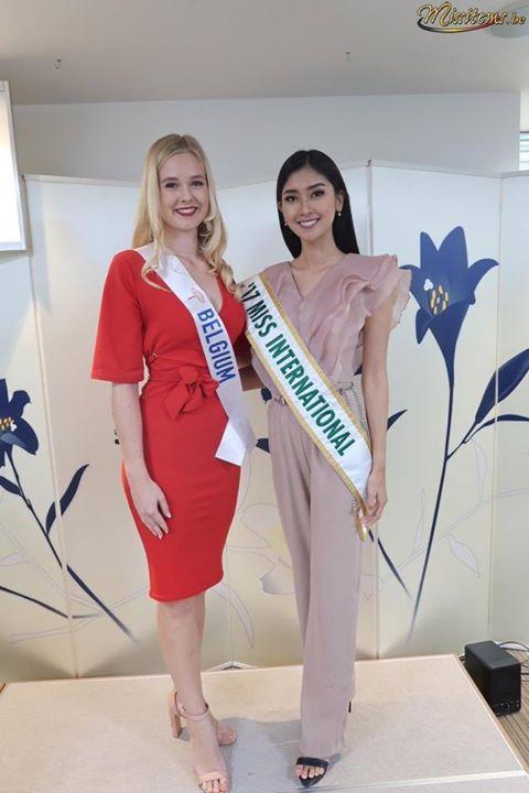 Belgium, Miss International 2017