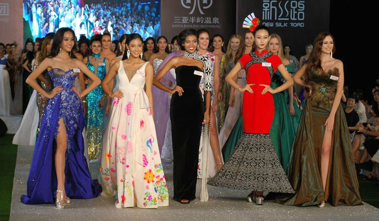 Malaysia, Thailand, South Africa, China and Portugal were chosen as the Top 5 dresses of the night!