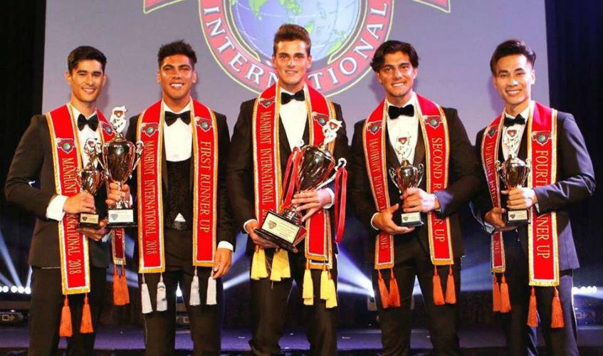 Manhunt Int´l Top 5: Philippines (4th), Australia (2nd), Spain (1st), Netherlands (3rd), Vietnam (5th).