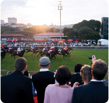 Horseracing at Vodacom Durban July from Jack Daniel's Boomtown
