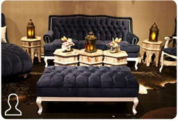 Platinum Lounge area
