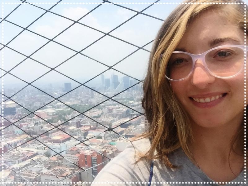 Utsikt fån Torre Larinoamericano.