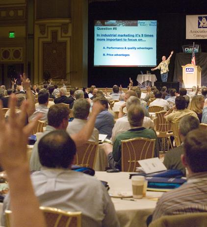 Doug & Audience hand up.jpeg