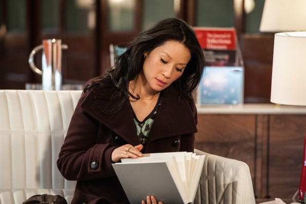 Lucy Liu as Joan Watson CBS Elementary Episode 17 Possibility Two