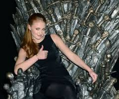 Let's have Sophie Turner on the iron throne instead of a pic to illustrate this one...