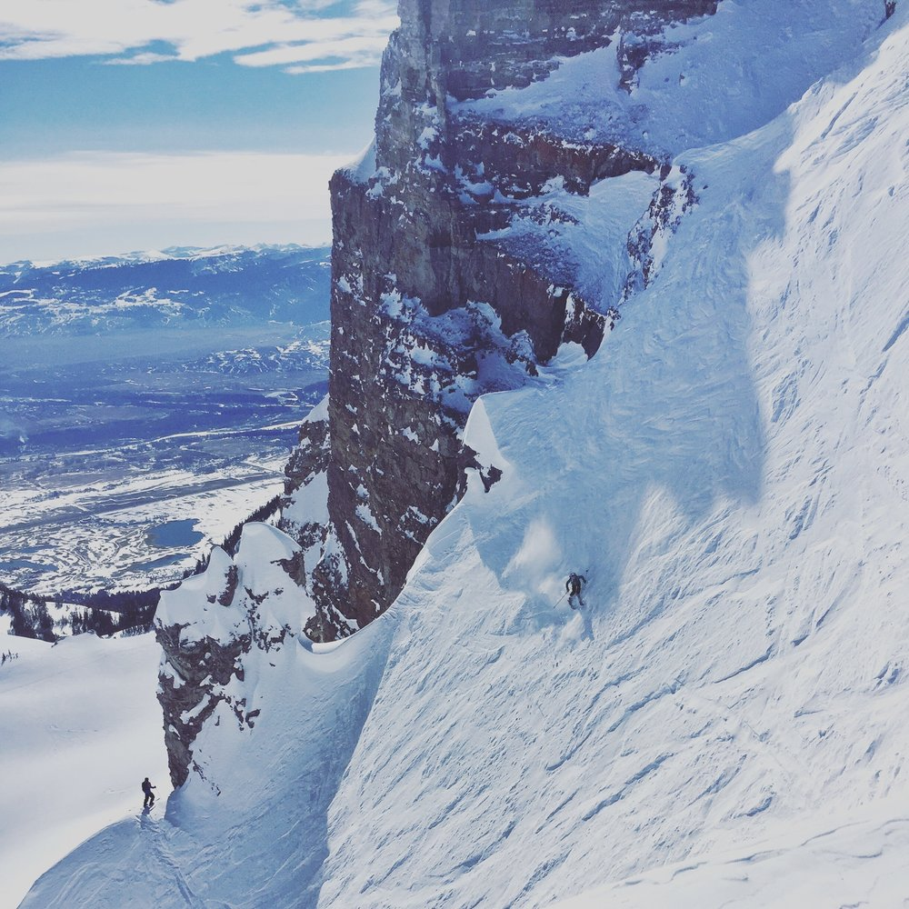 leaning in: Charging fear & freshies - Teton Gravity Research