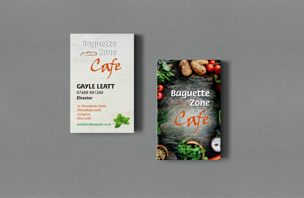 1000 business cards: £100 - Includes design, print and delivery.