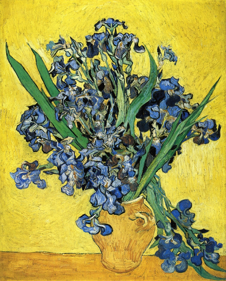 Flowers by Vincent Van Gogh, 1890s