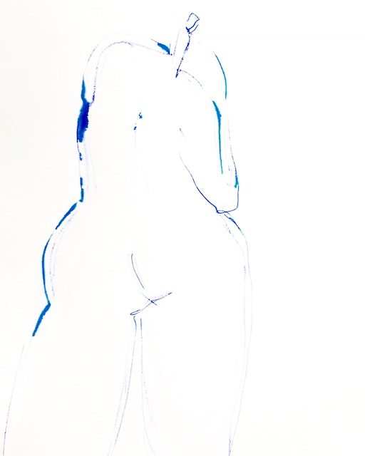 Lady in Blue II - 24