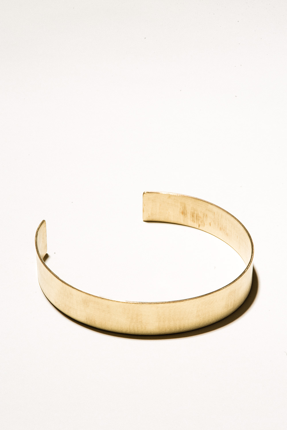 20 Brass Collar - 20mm wideJewelers Brass with Lacquer FinishHand Smithed$175