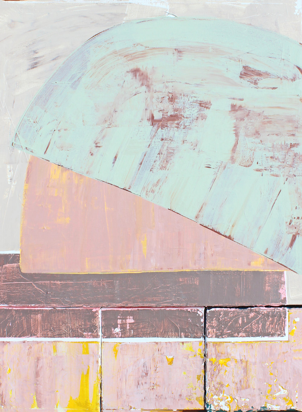 "Cache - Laura Dargan24"" x 18"" Acrylic on canvas$1300"