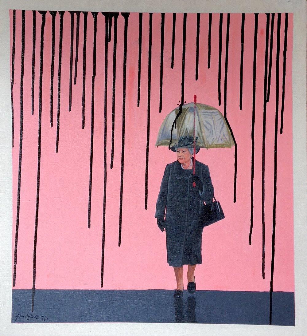 "November Rain - 27"" x 20""Oil on canvasSOLD"
