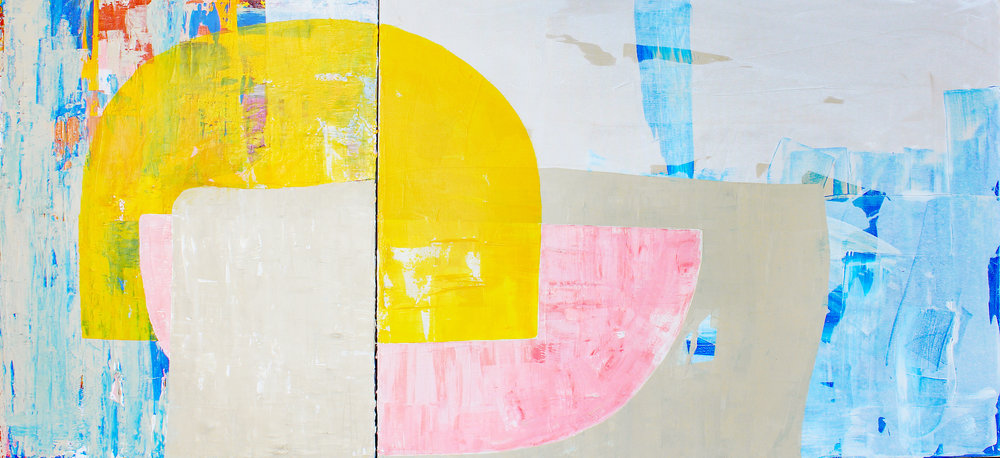 "Union - 30"" x 64"" acrylic on canvasSOLD"