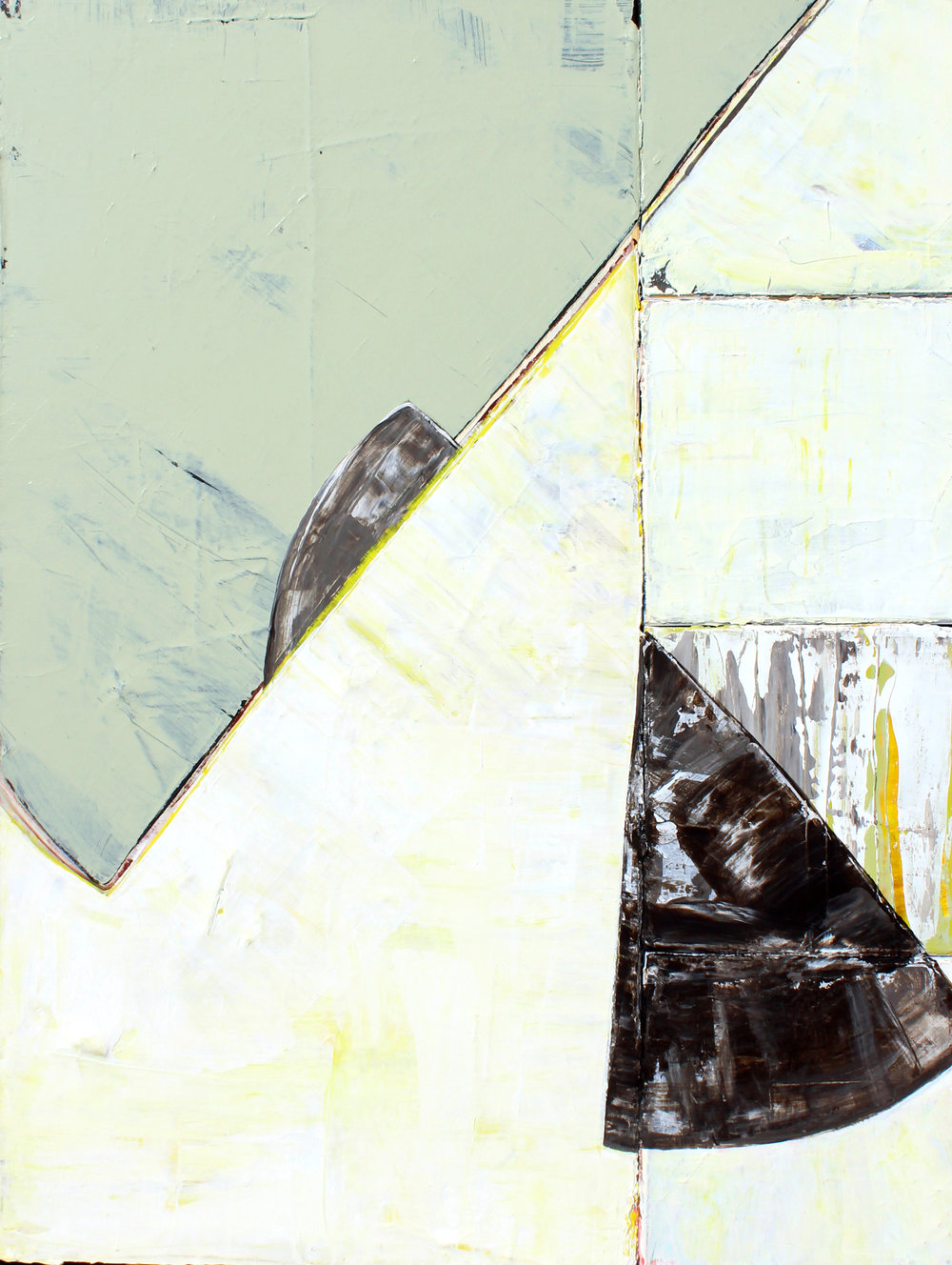 "Piece of the Pie - 24"" x 18"" acrylic on canvas$1000"