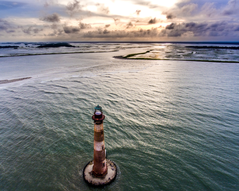 Clouds and Morris Island Light.jpg