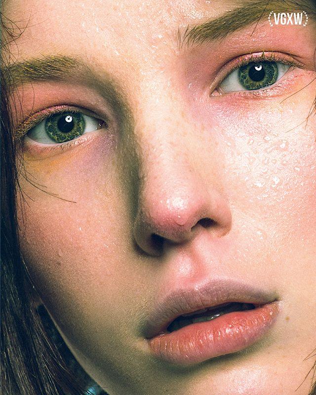 """Got flu"" #beauty #editorial @vgxwmagazine  model Daria Z @dnkmodels  muah @mityakova.life"