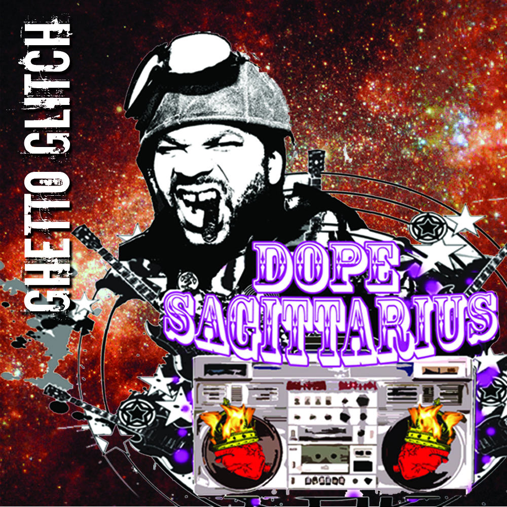BUY NOW - REGGAE, HIP HOP AND HAUNTING SYNTHS MERGE ON DOPE SAGITTARIUS PLAYFUL ALBUM GHETTO GLITCH. THEY MERGE SOUL, FUNK AND R&B WITH GRAPHICALLY LAYERED THICK ELECTRONIC DANCE RIFFS EFFORTLESSLY - OKPLAYER