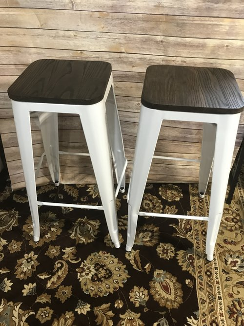 c923632594a1e SOLD DHP S003102 FUSION METAL BACKLESS BAR STOOL