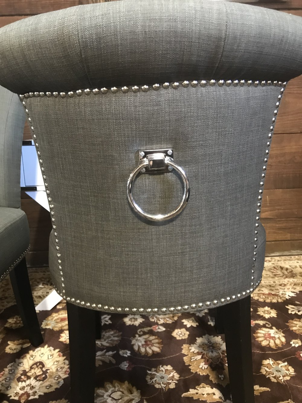 Safavieh Sinclair Ring Chair, Set Of 2, Charcoal
