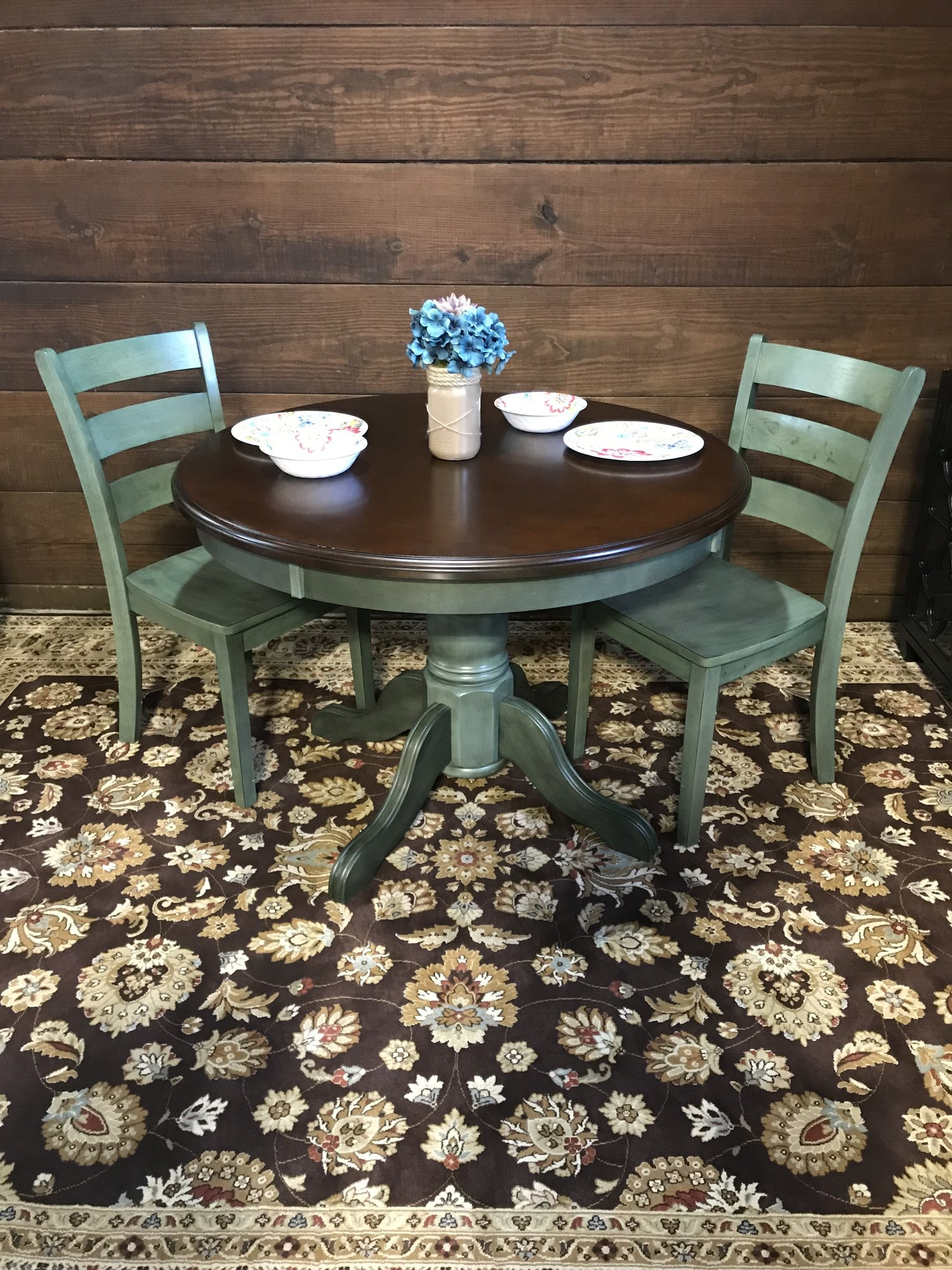 BETTER HOMES AND GARDENS CAMBRIDGE PLACE DINING TABLE AND WILMINGTON ...