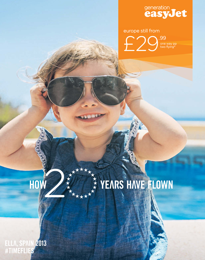 Existing Easyjet ads