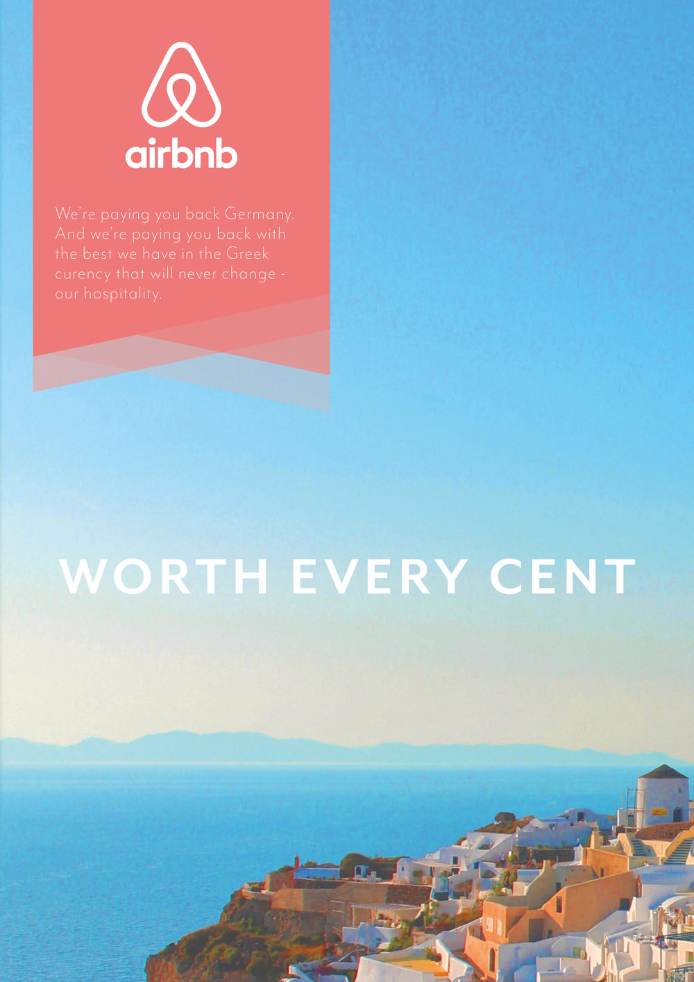 Recreated Airbnb ads with Easyjet's style