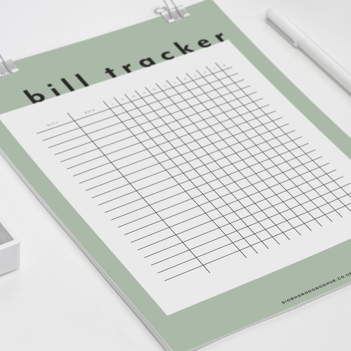 printable finance tracker pages edge siobhan o donoghue