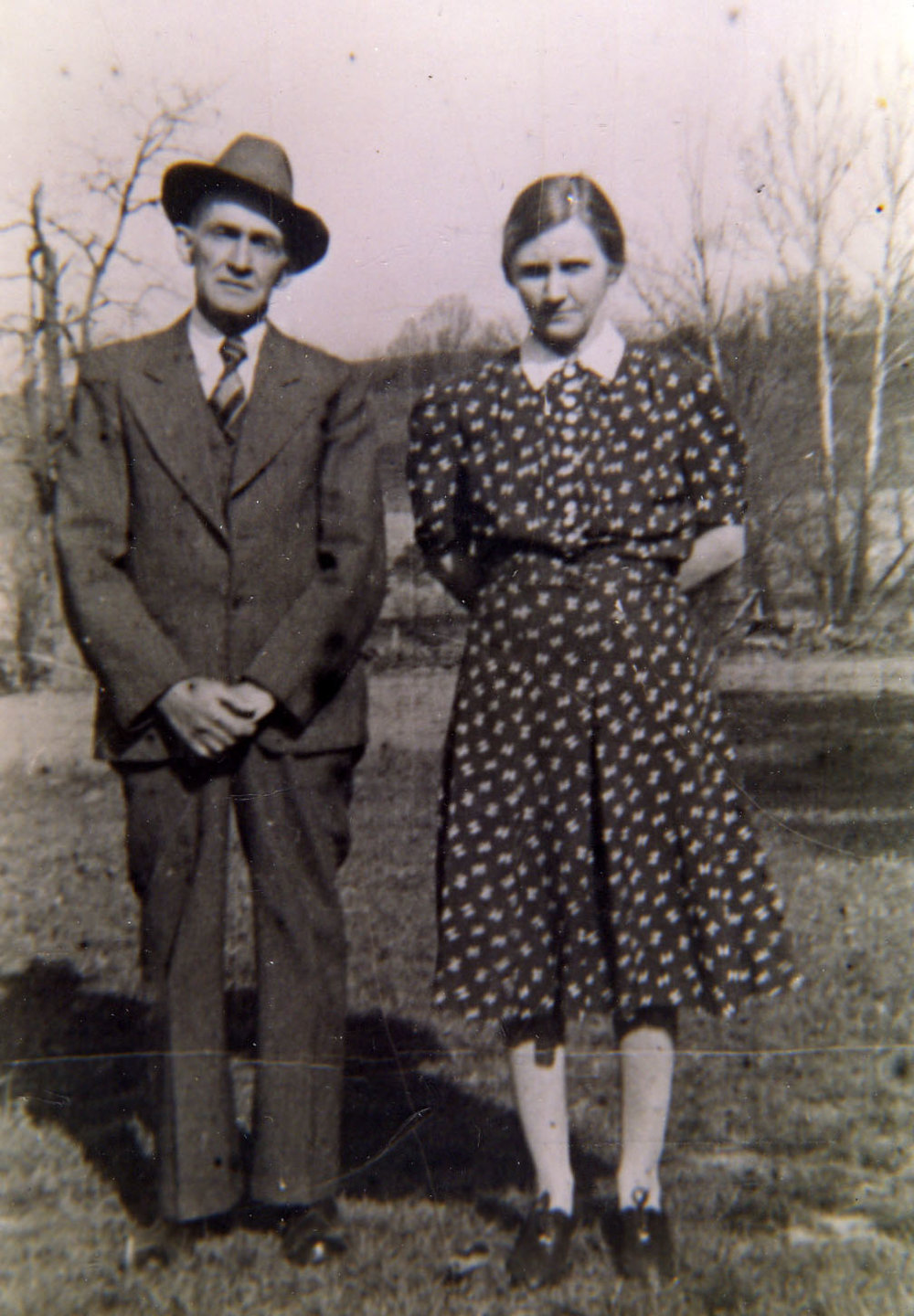 My great grandparents June and Bessie