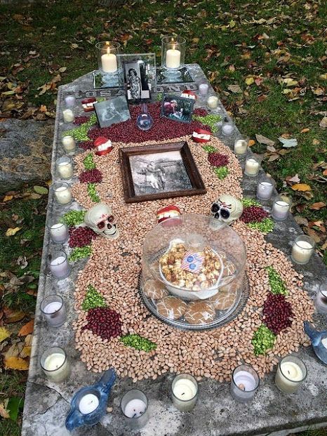 Day of the Dead Altar, Old Episcopal Burying Ground