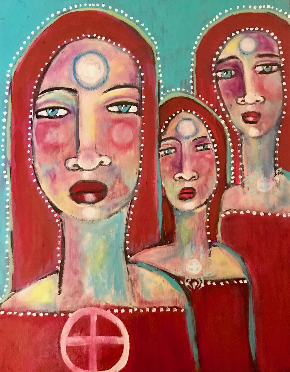 Sisters of Mercy    16 x 20    Acrylic on Canvas