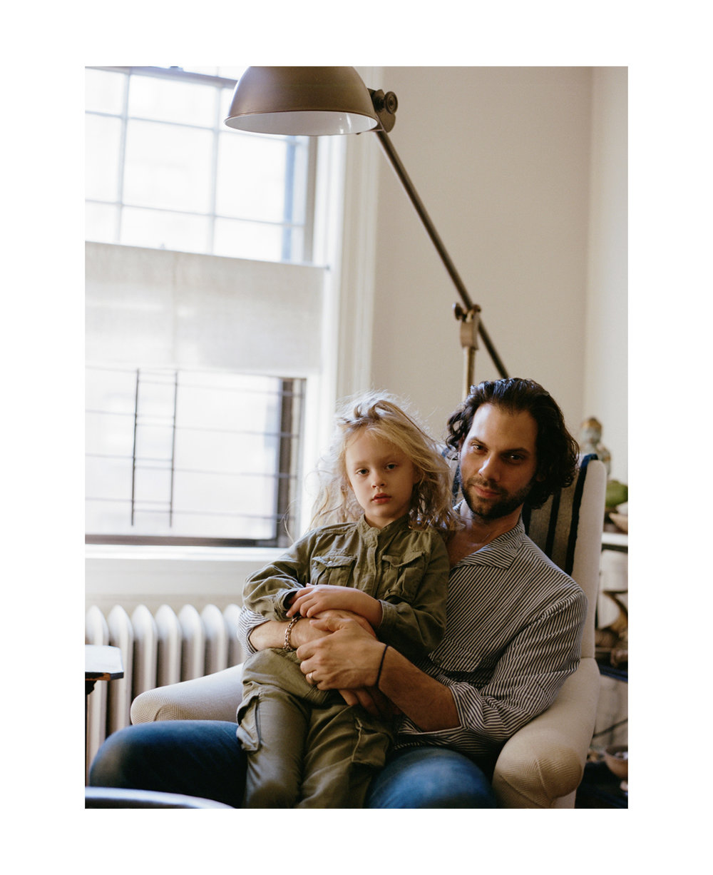 Gus and Olympia for Kinfolk.