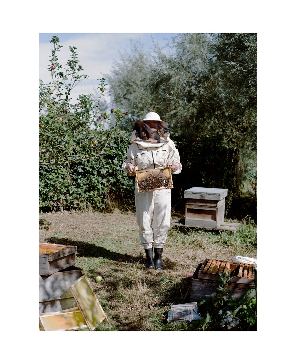 Beekeeper, Cotswolds, UK.