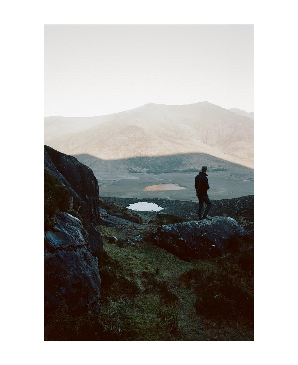James at Conor Pass, Ireland.