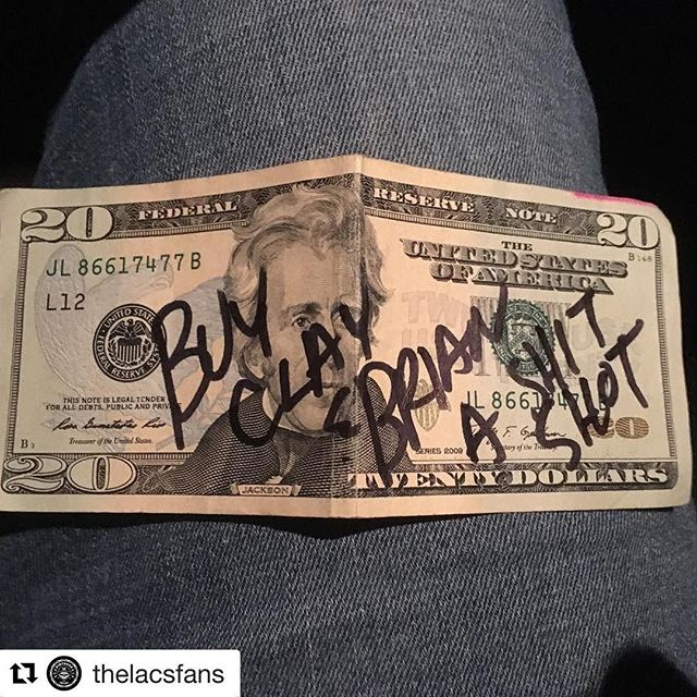 #Repost @thelacsfans (@get_repost) ・・・ TBT - The $20 bill from the @moonshine_bandits is going to get spent soon @8secondssaloon on 12/1 when the @thelacsmusic boys show up! Gonna get some video of this! @dirt.rock  #ShitShot #Promise  Game on!!!!!