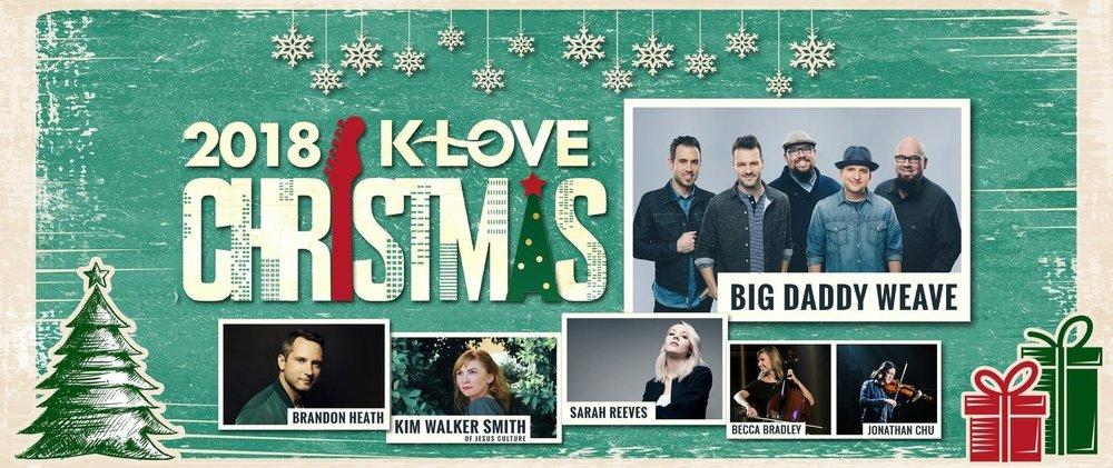 K-Love Christmas Tour