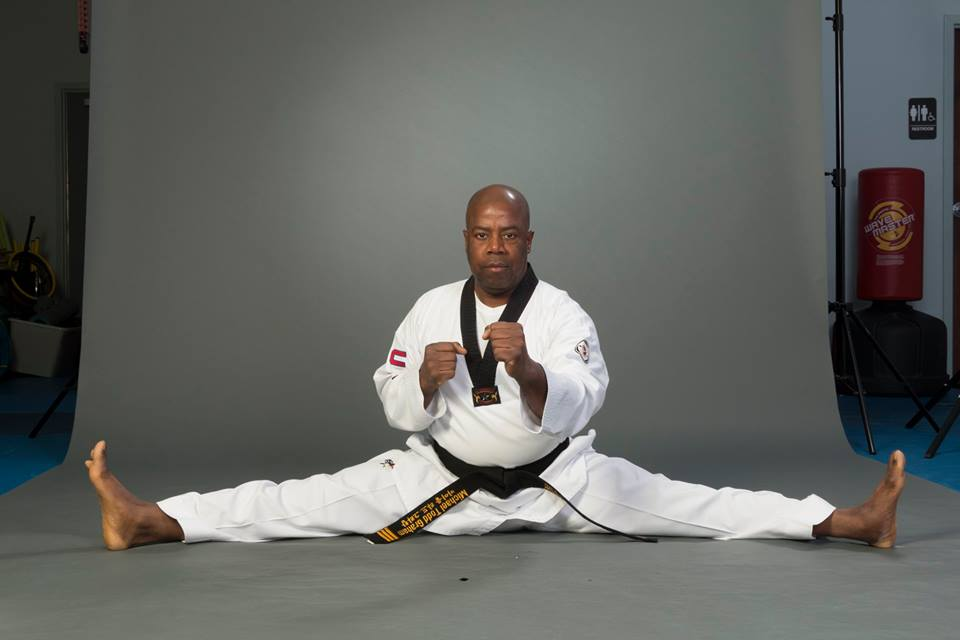 4th Dan Black belt  Master Michael Graham -