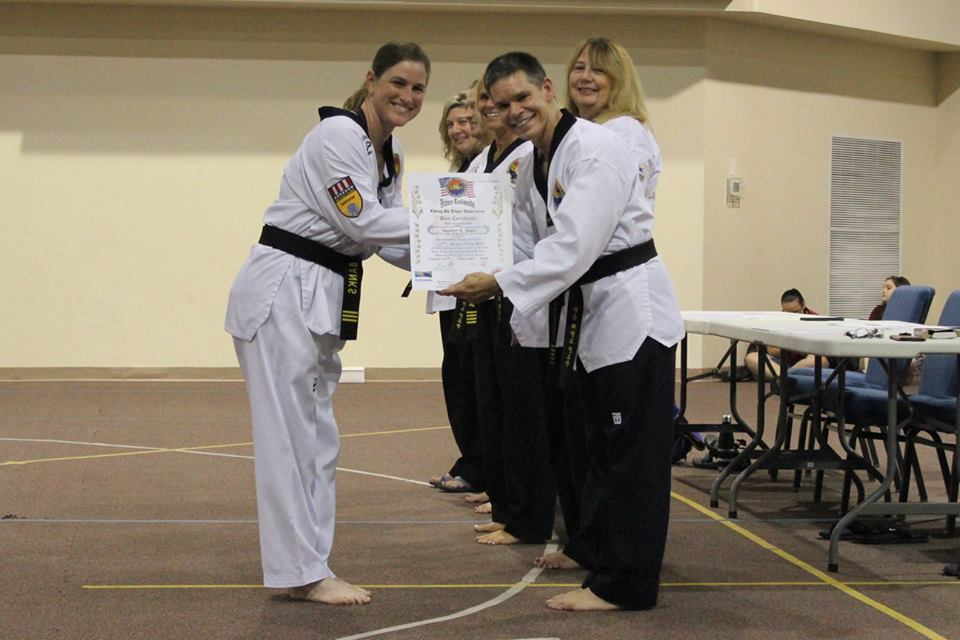 3rd Dan Black Belt Instructor Heather Banks -