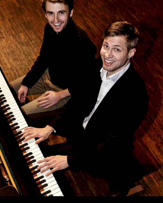 Last weekend at the @bestbuddiesgermany benefit concert with Lukas Rommelspacher in #marburg 😊 . . . #piano #twopianos #4hands #classicalmusic #live #concert #bestbuddies #benefit