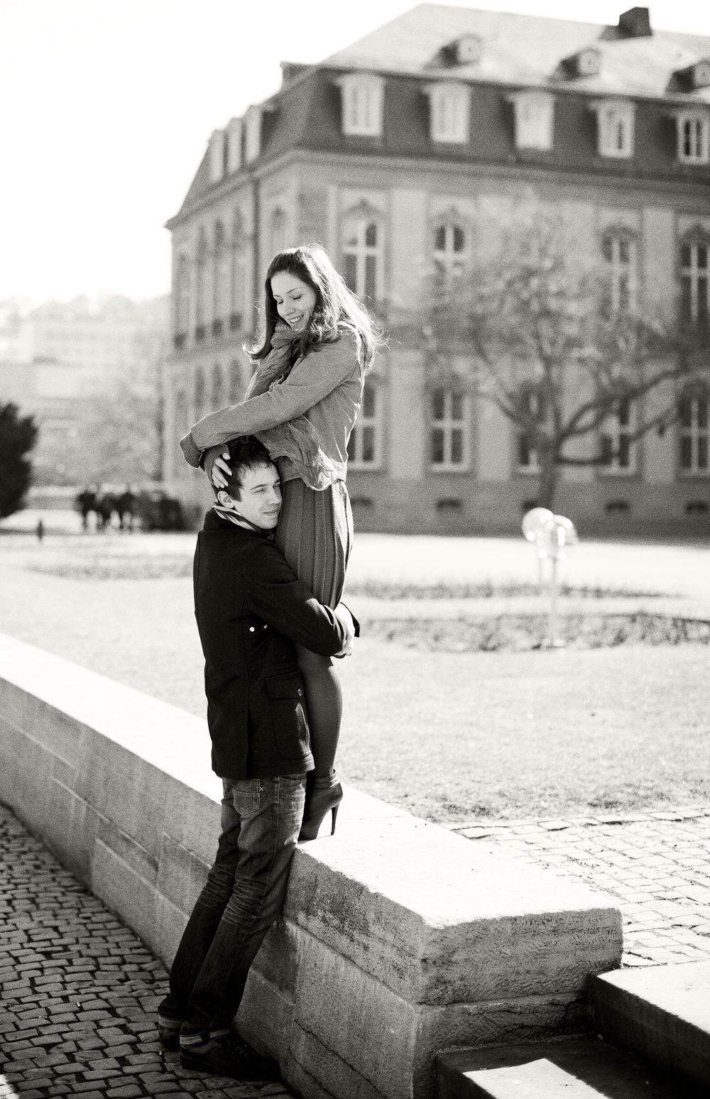 Нежнейшая Love Story в славном Штутгарте -