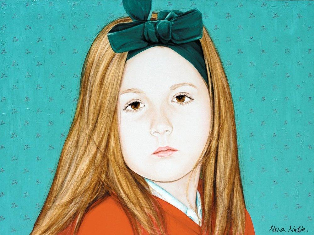 Celine - Acrylic on canvas89 x 120 cm (35 x 47)