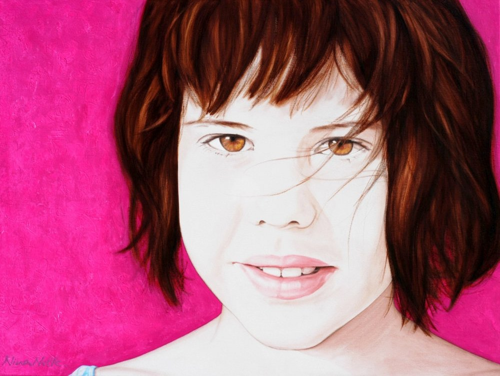 Blanca - Acrylic on canvas189 x 115 cm (35 x 45)