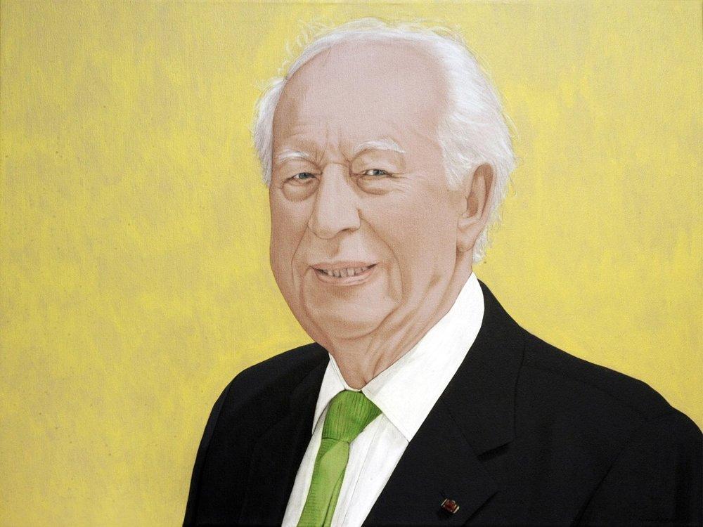 Alfred T. - Acrylic on canvas90 x 120 cm (35 x 47)
