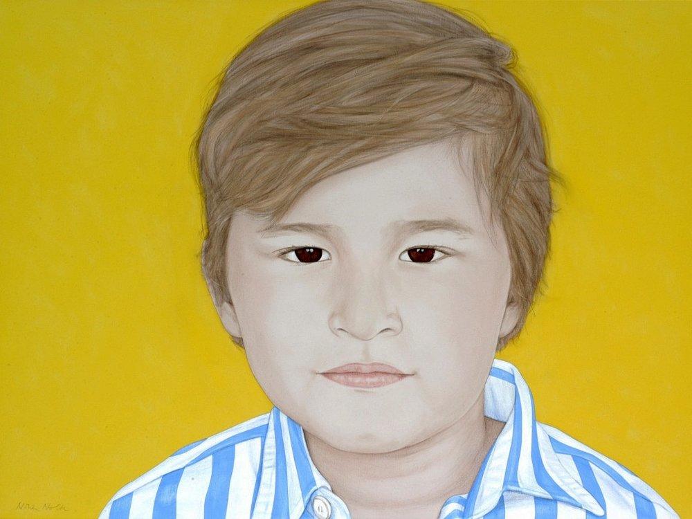 Oleg - Acrylic on canvas90 x 120 cm (35 x 47)
